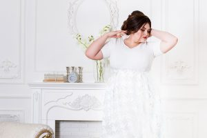 Brautkleider für Mollige / XXL