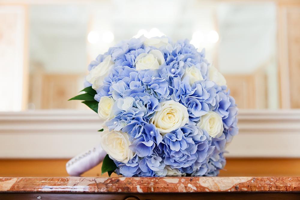 Braustrauß Blau
