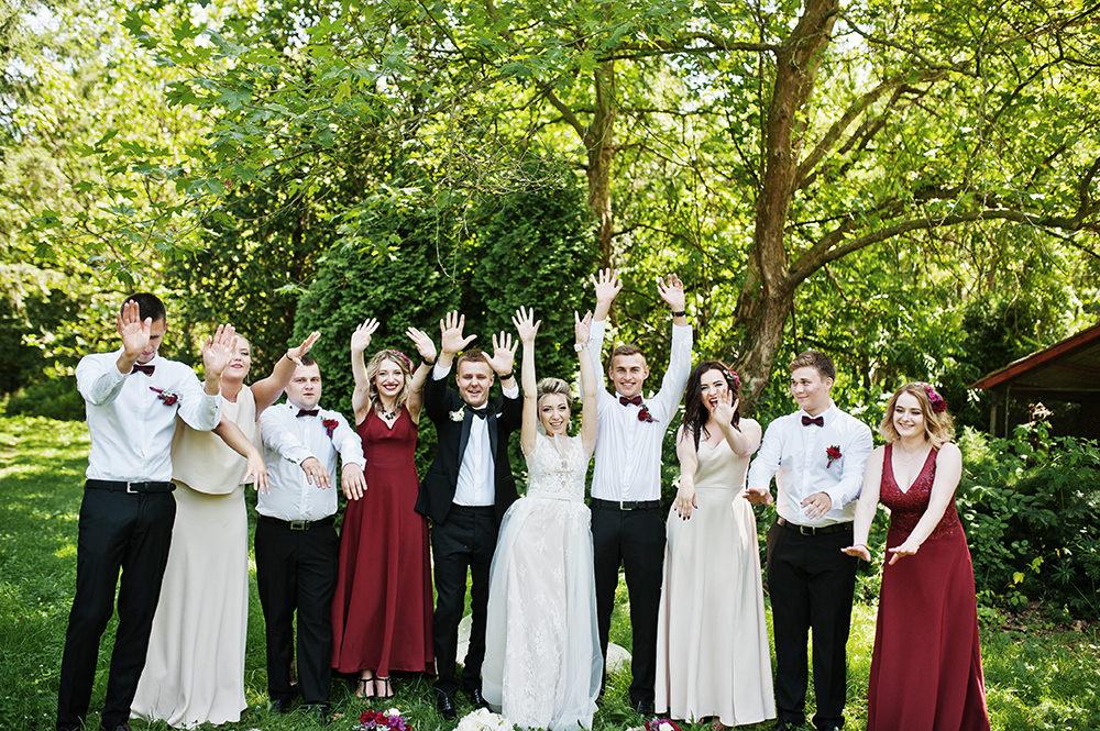 Hochzeitsfotos Gruppe